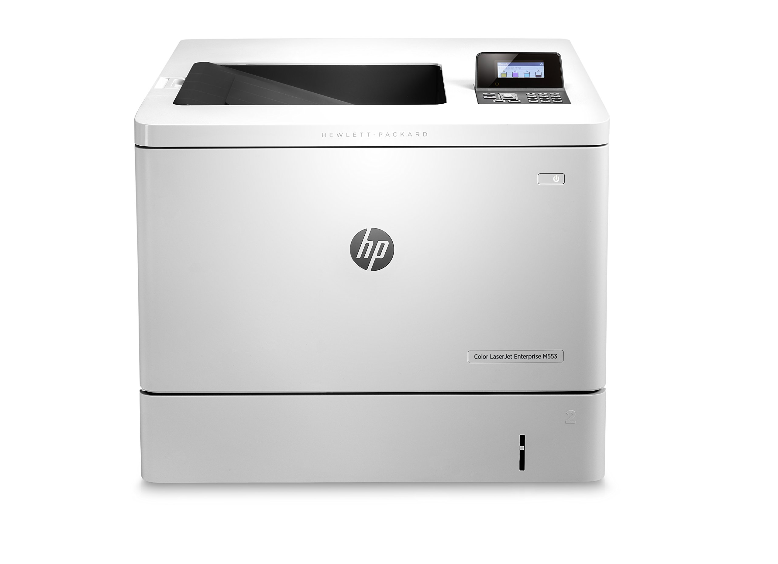HP LaserJet Enterprise M553n Color Laser Printer with Built-in Ethernet (B5L24A)