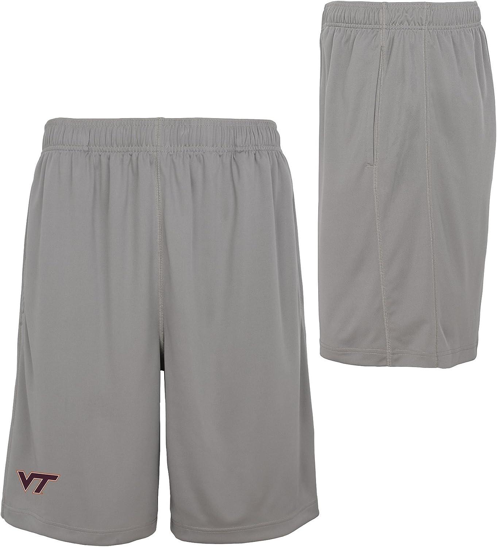 Charcoal Grey Mens X-Large NCAA by Outerstuff NCAA Virginia Tech Hokies Mens Playmaker Basic Performance Short