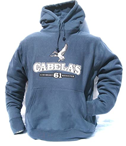 f6e247c0513c5 Cabela's Deer, Lab, Duck, Float Plane HeavyWeight Hunting Hoodie (Duck,  Medium