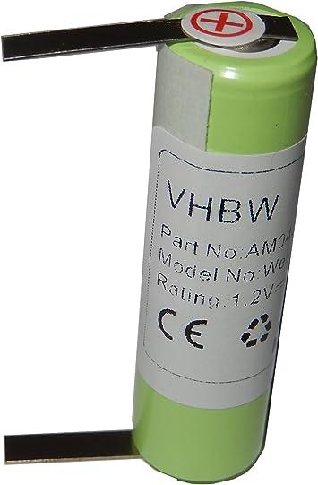 vhbw batería 2000mAh (1.2V) para máquina para cortar pelo Wella ...