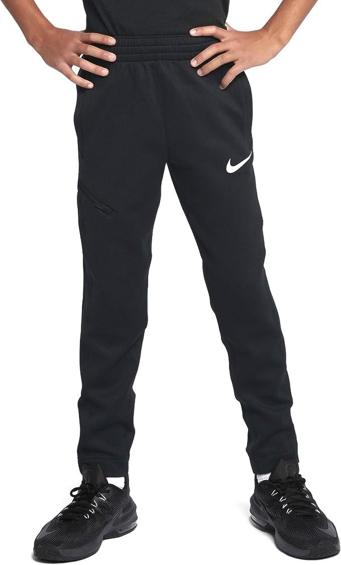 Nike Boys Therma Flex Showtime Basketball Pants (Black ...