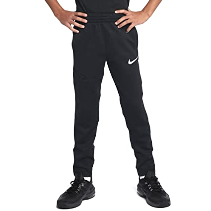 08bcaa03c9 Amazon.com   Nike Boys  Therma Flex Showtime Basketball Pants (Black ...