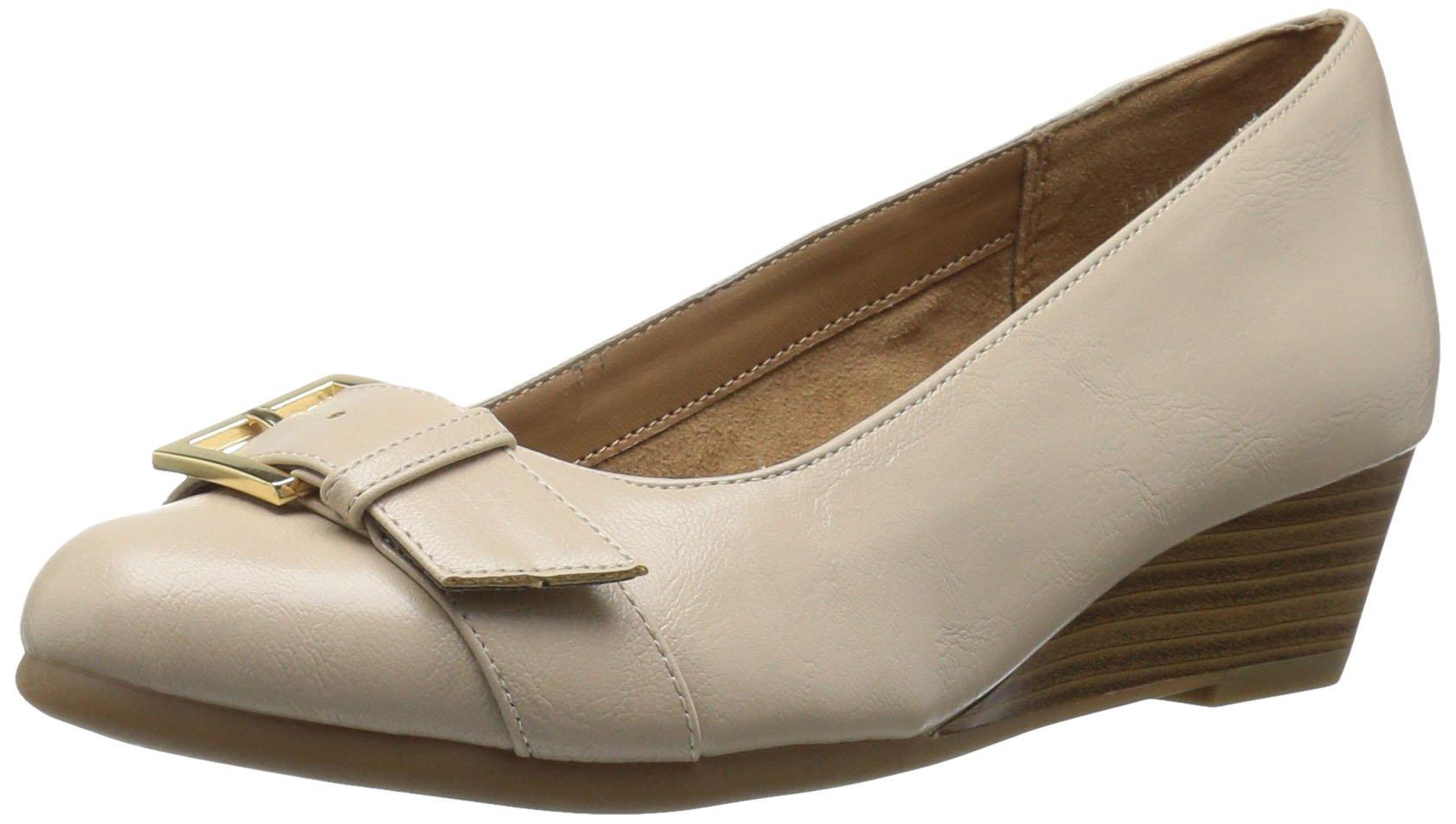 Aerosoles Women's Love Bug Slip-on Loafer, Bone, 8 M US