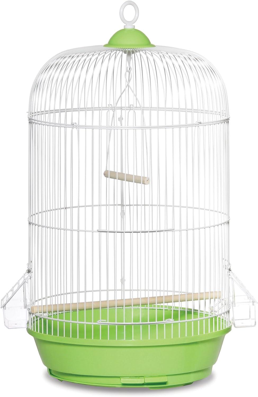Prevue Hendryx SP31999G Classic Round Bird Cage, Green,1/2