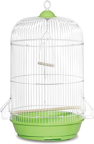 Prevue Hendryx SP31999G Classic Round Bird Cage, Green,1 2