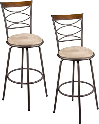 Kira Home Avery Barstool Bronze Metal, Original