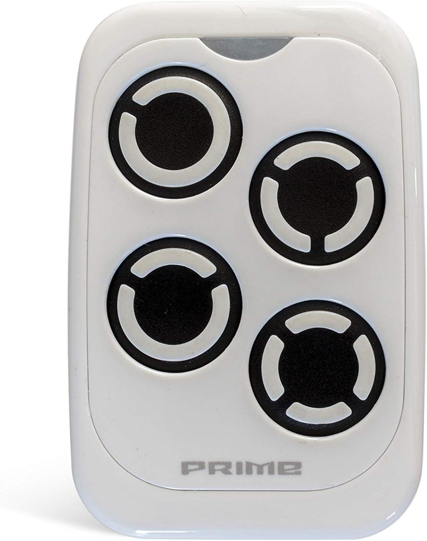 Universal Handsender PRIME 433-868 MHz Fernbedienung Garagentor/öffner Garagentor All-White