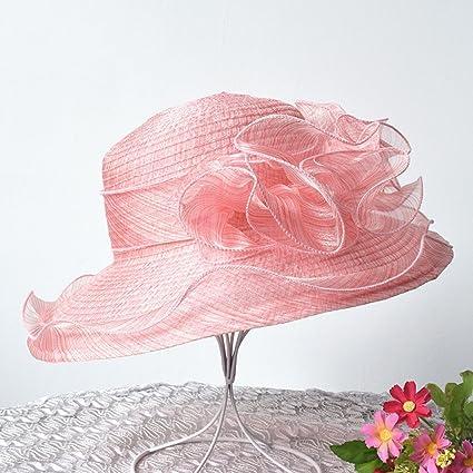 ZUOANCHEN Sombrero De Sun Sombreros De Boda De Verano Sombrero De Playa De Ancho  Europeo Y 52eeecb2b49