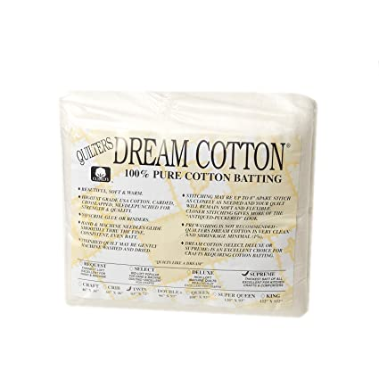 Image Unavailable Not Available For Color Quilters Dream Natural Cotton Supreme Batting