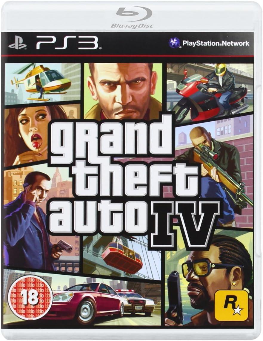 Rockstar Games Grand Theft Auto IV, PS3 - Juego (PS3, PlayStation 3, Acción / Aventura, M (Maduro)): Amazon.es: Videojuegos