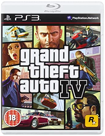 Grand Theft Auto IV (PS3): Amazon co uk: PC & Video Games