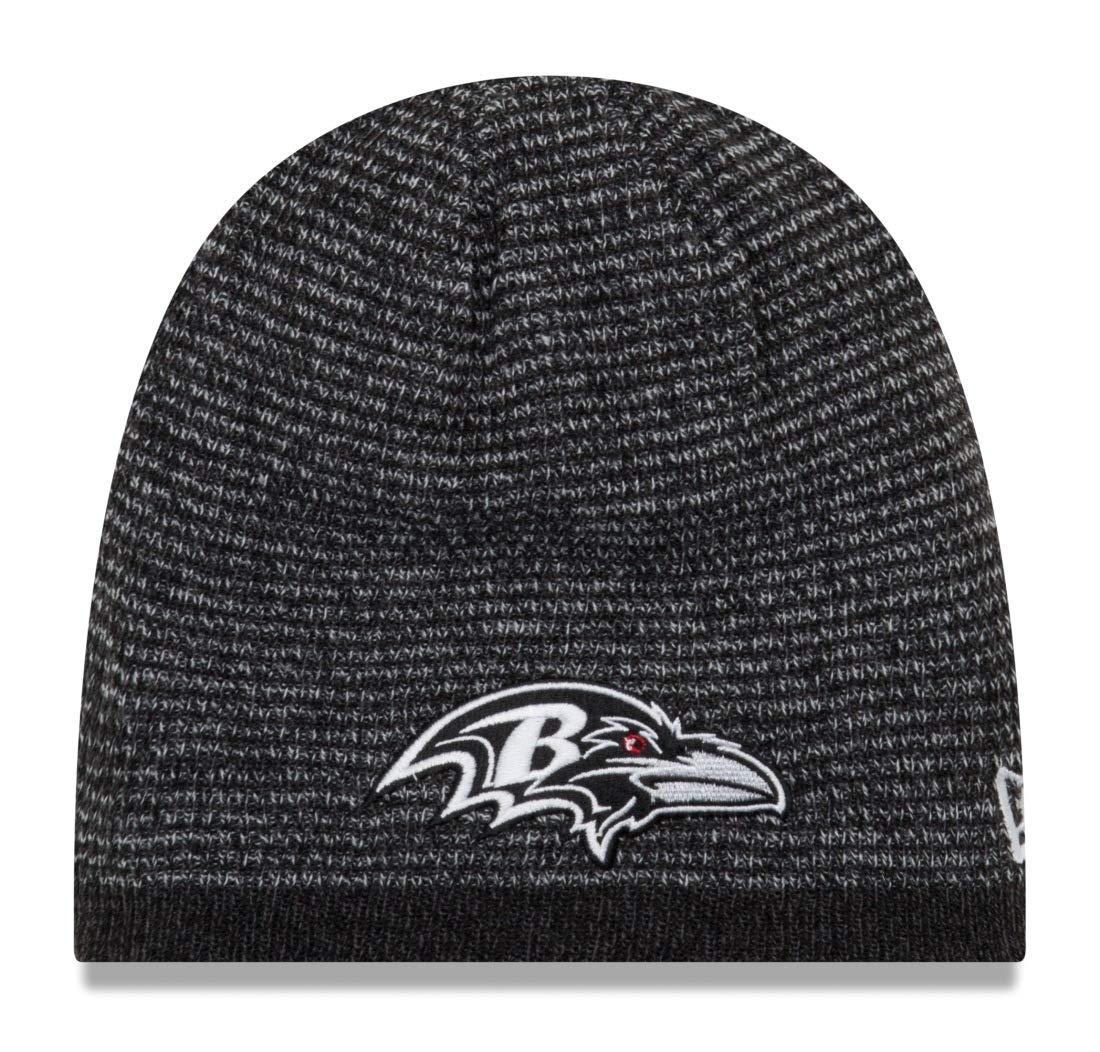 272306147bbe06 Amazon.com : New Era Baltimore Ravens NFL Basic Team Beanie 2