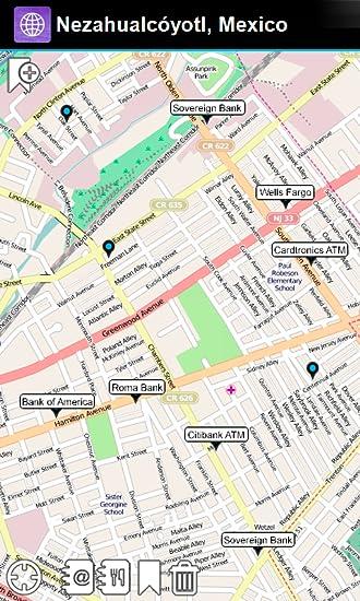 Nezahualcoyotl Mexico Map.Amazon Com Nezahualcoyotl Mexico Offline Map Smart Sulutions