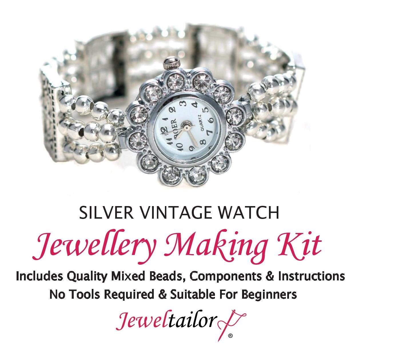 Sale Jeweltailor Silver Vintage Style Watch Jewellery Making Kit