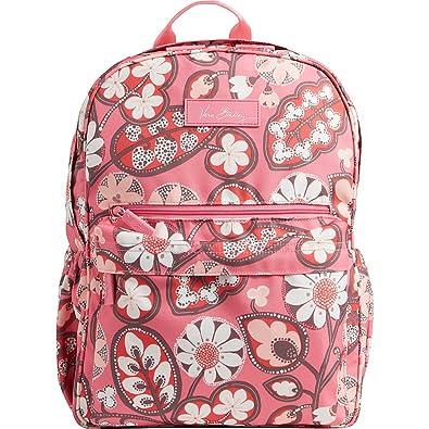 baf08d279d Vera Bradley Women s Lighten Up Just Right Backpack Blush Pink Backpack