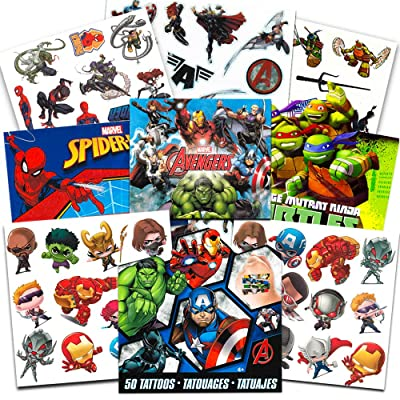 Super Hero Party Supplies Set -