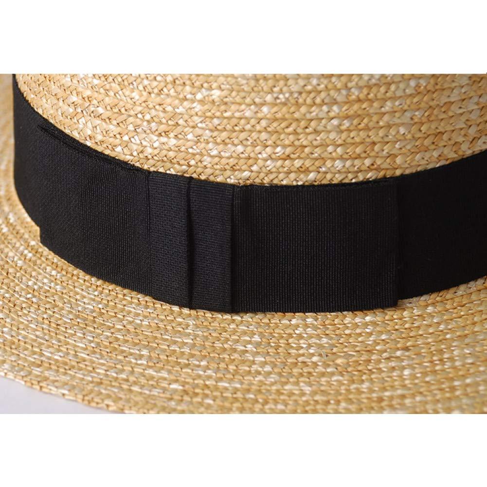 JJJRMP Mujer Verano Sombrero De ala Grande Sombreros para El Sol para Ni/ña Moda Floppy Sombrero De Paja Chapeu Feminino Folded Floppy Hat Bohemia Beach Cap