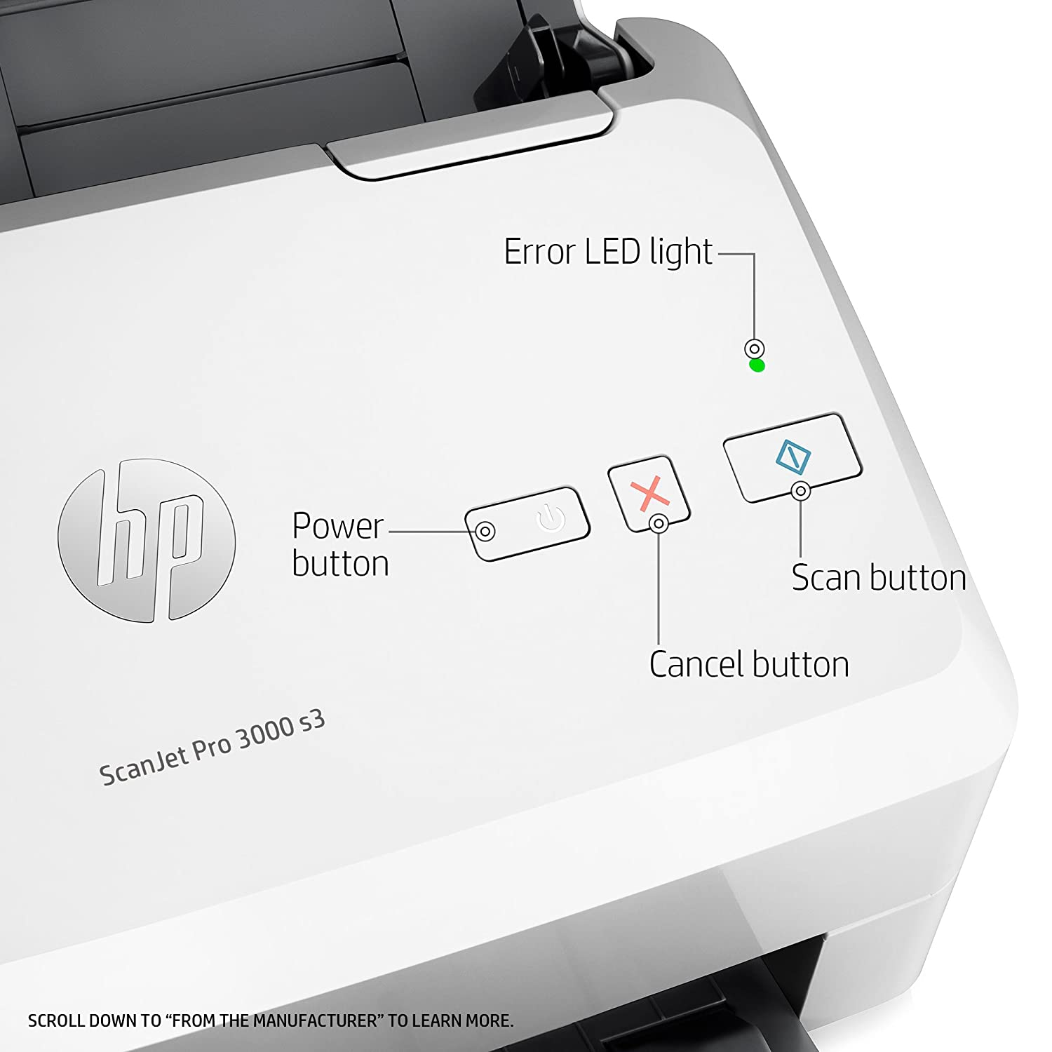 Buy Hp Scanners L2753a Bgj Scanjet Pro 3000 S3 Sheetfed Comutronics Electronics Qa Color Desktop Scanner Online At Low Prices In India Reviews Ratings