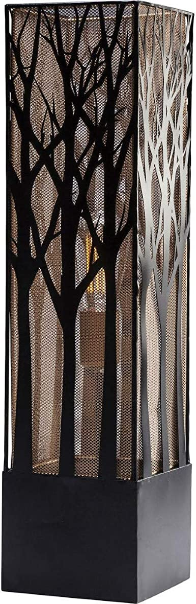 Kare Mystery Tree Lámpara de Pie, Negro, 78.5 x 19.5 x 19.5 cm ...