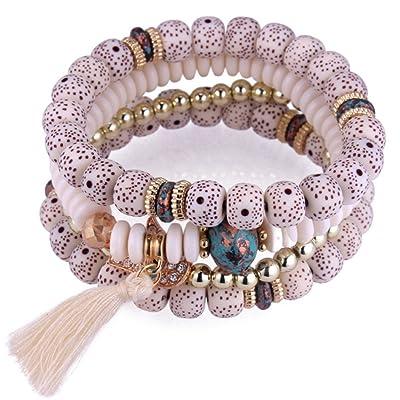 Freessom Bouddhiste Homme Femme Bracelet Fantaisie Pour Perles KFTl1uJ3c
