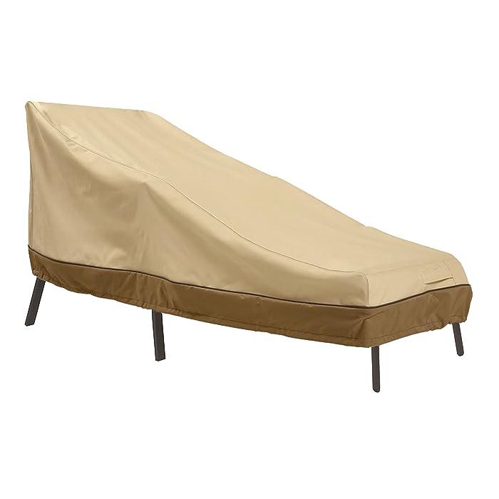 Classic Accessories Veranda Patio Chaise Lounge Cover, Large