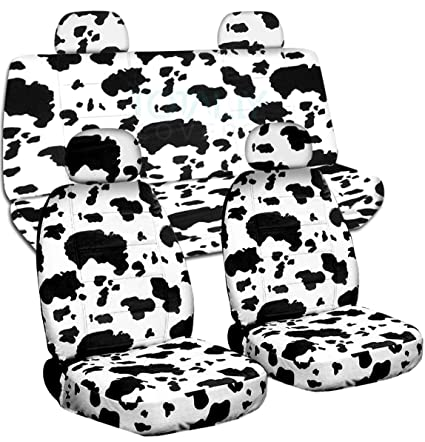 Terrific 2002 2007 Jeep Liberty Animal Print Seat Covers With Adjustable Molded Front Rear Headrests Cow Big Pattern Full Set 29 Prints Split Bench Pdpeps Interior Chair Design Pdpepsorg
