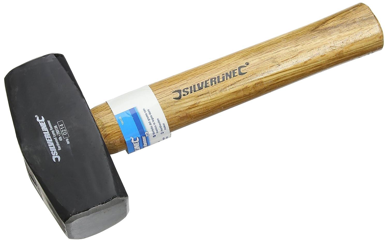 Silverline 783136 Massette manche bois dur 1, 8 kg