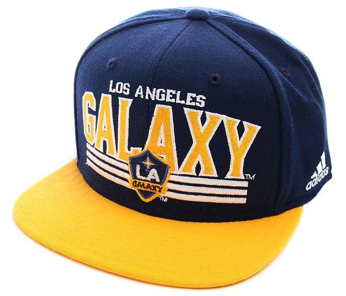 best cheap aa6c6 33501 Amazon.com   MLS LOS Angeles Galaxy Snapback Adidas Hat - Osfa - NP01Z    Sports Fan Baseball Caps   Clothing