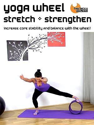 Amazon.com: Barlates Body Blitz Yoga Wheel Stretch and ...