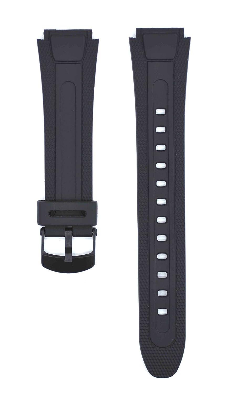 17 mmブラックゴム時計ストラップfor aw-81 Watches cas140  B0792XYLPL
