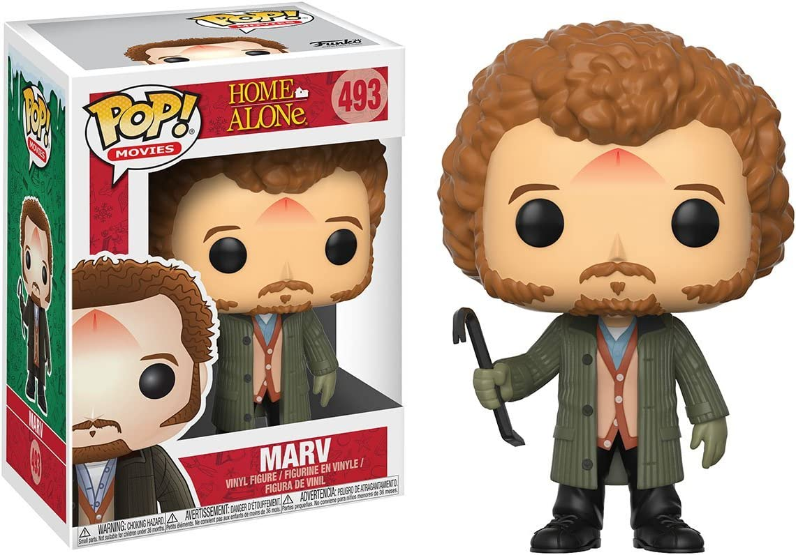 Funko Pop! Holidays: Home Alone - Marv Vinyl Figure (Bundled with Pop Box Protector CASE)