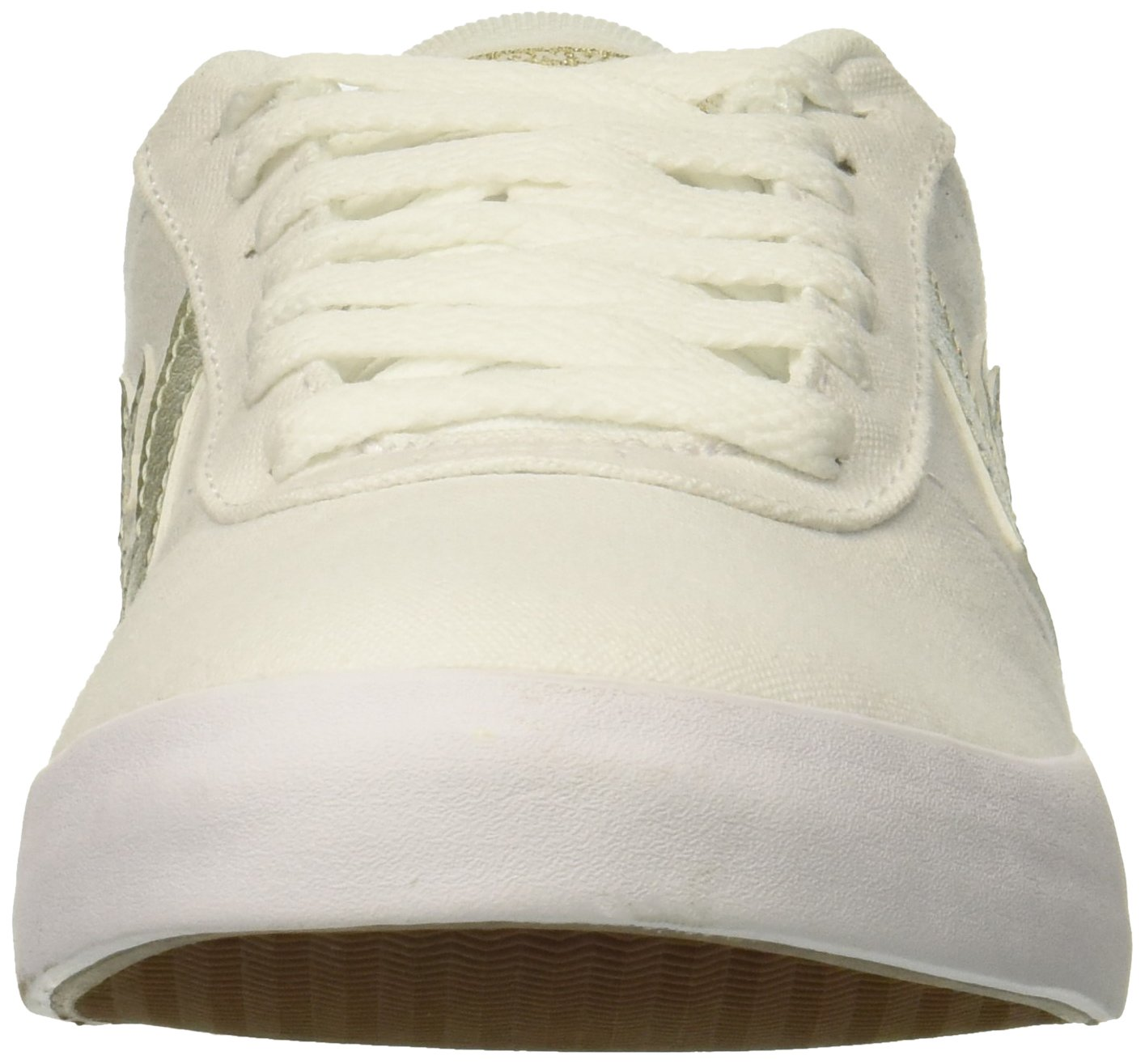 Converse Women's Sneaker Point Star Low Top Sneaker Women's B07CR9J6XJ 10 B(M) US|White/White/Gold 111394