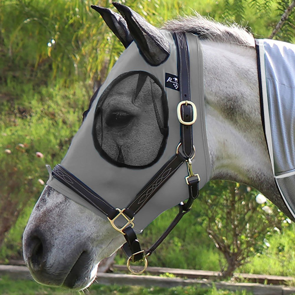 Professional's Choice Comfort-Fit Fly Mask Charcoal