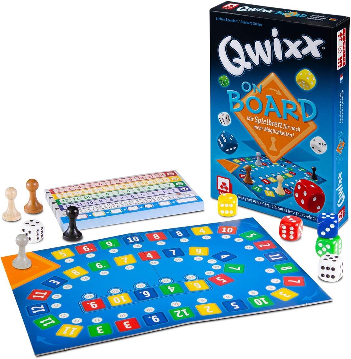 NSV - 4093 - QWIXX - On Board - Juego de Dados: Amazon.es: Juguetes y juegos
