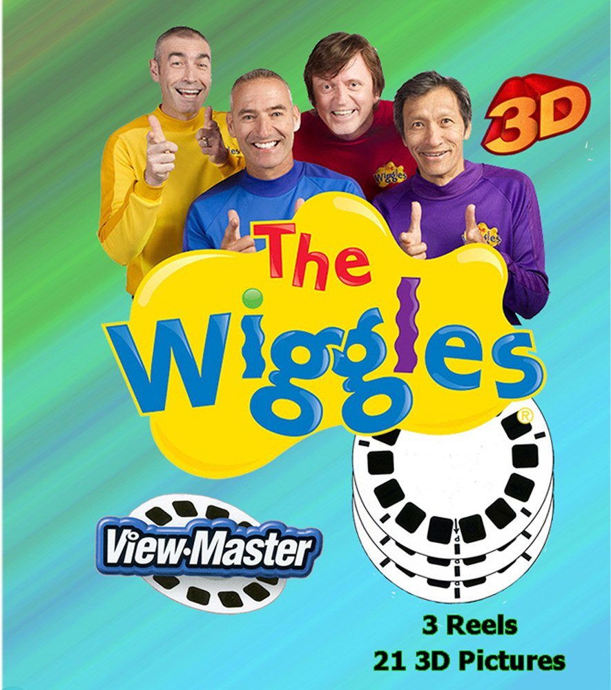 WIGGLES - ViewMaster 3 Reel Set in 3D by 3Dstereo ViewMaster