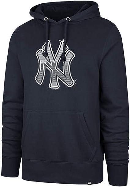iz Mens Athletic Baseball Yankees Pullover Hoodie