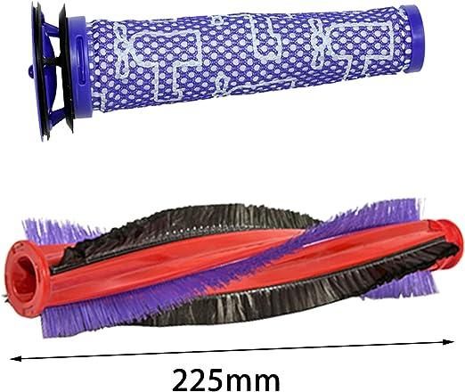 Spares2go - Cepillo de rodillo + filtro para aspiradora inalámbrica Dyson DC59 V6 Animal: Amazon.es: Hogar