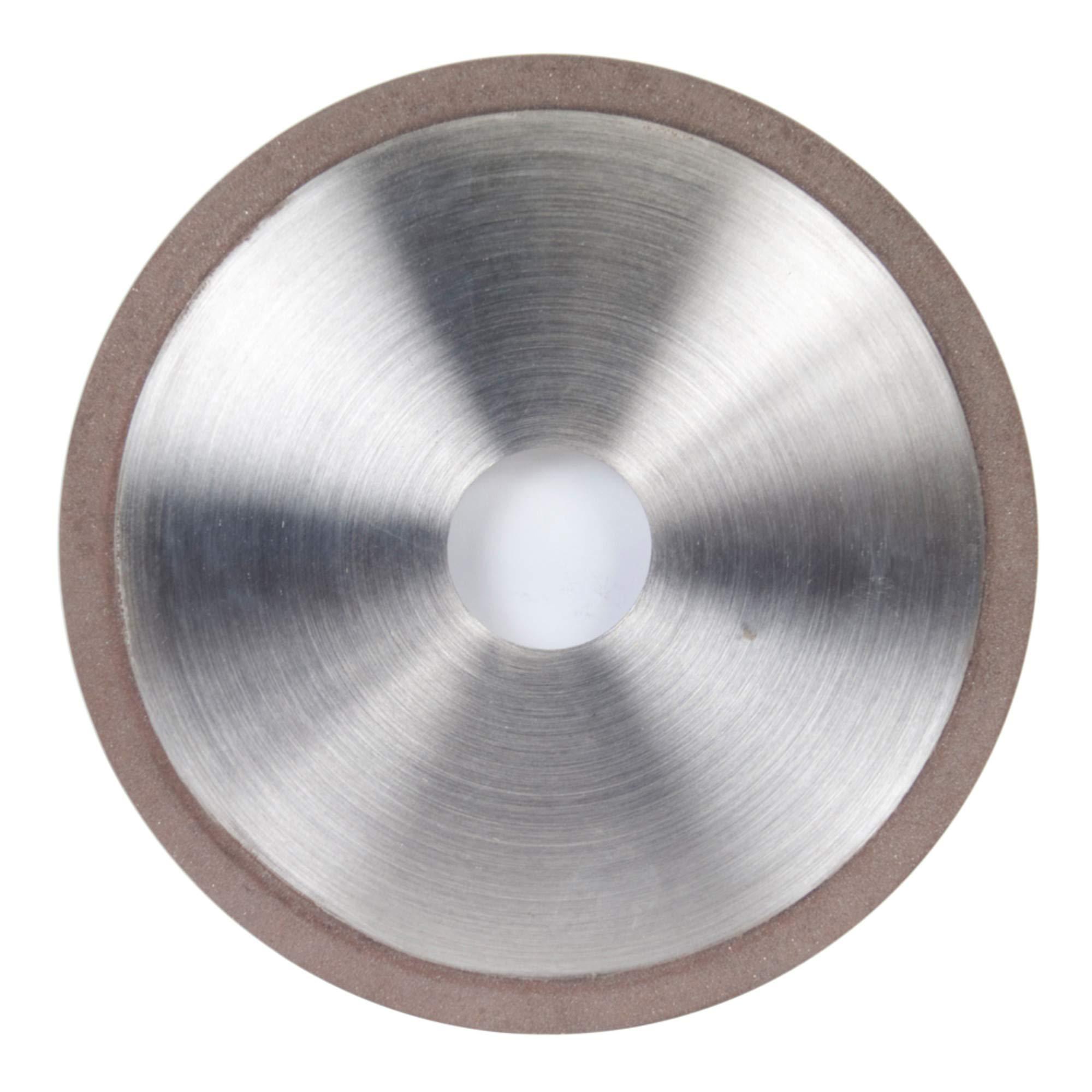 Norton Diamond Wheel 6'' Diameter 1/4'' Width 180 Grit Finishing Application D1A1 Diamond Wheel