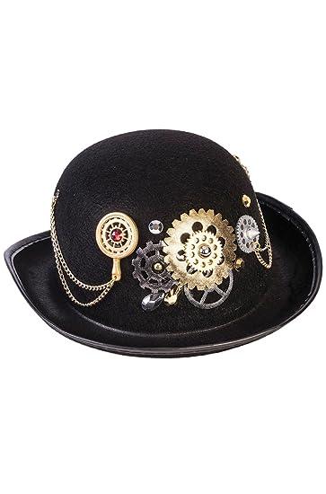 Amazon.com  Forum Novelties Unisex-Adult s Hat-Steampunk Derby ... 0ce092b1a6e