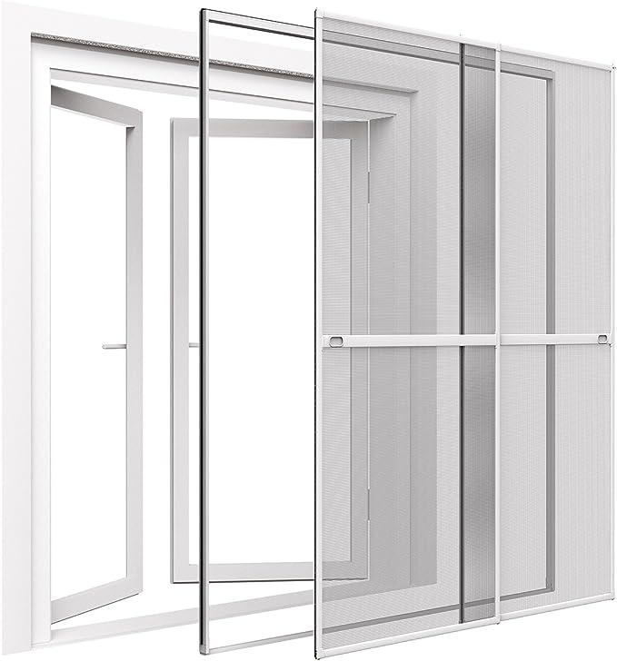 Mako Easy Life GmbH - Mosquitera para puerta (230 x 240 cm), color blanco: Amazon.es: Bricolaje y herramientas