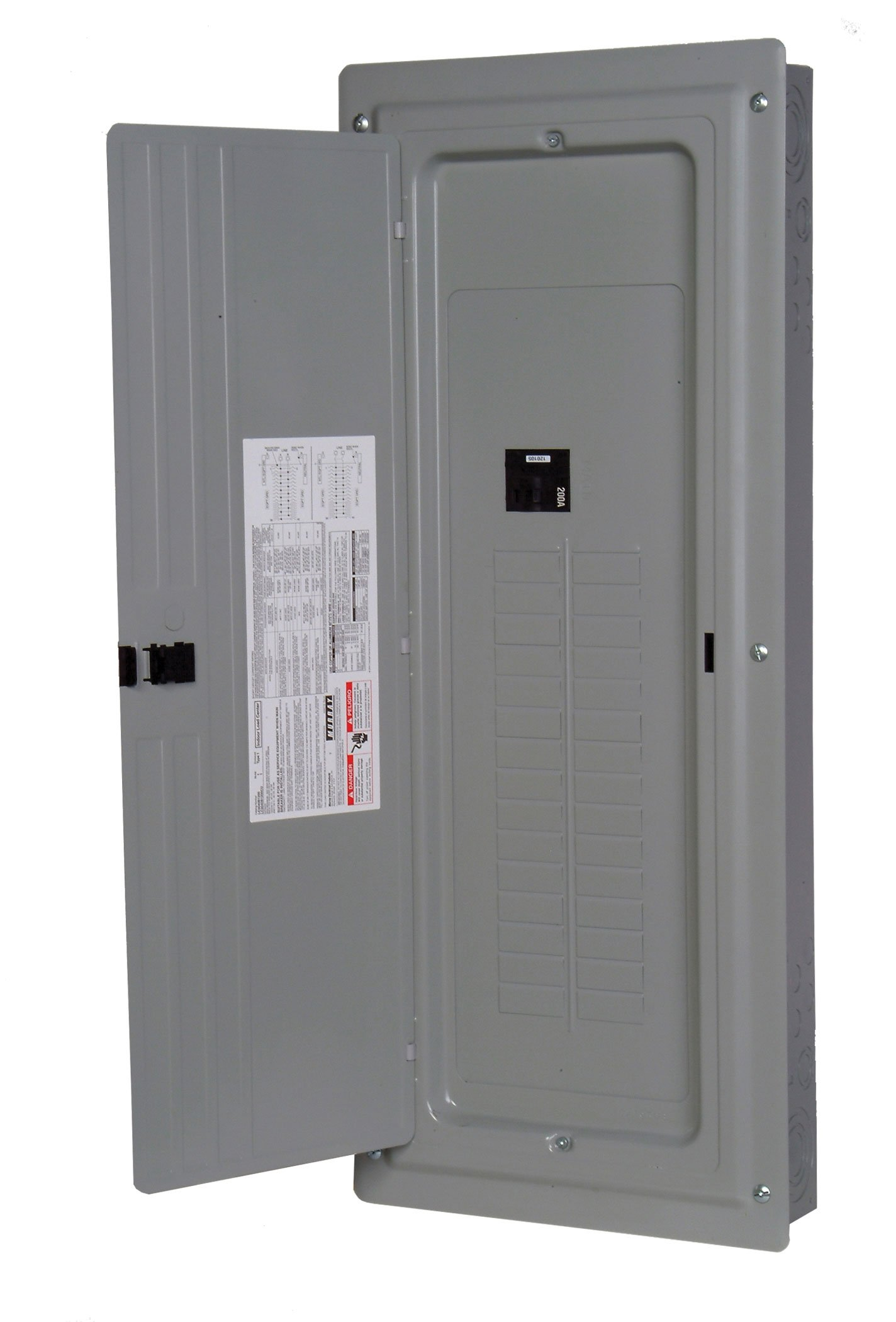 Murray LC4040B1200P 40 Space 40 Circuit 200 Amp Main Breaker Indoor Load Center Value Pack