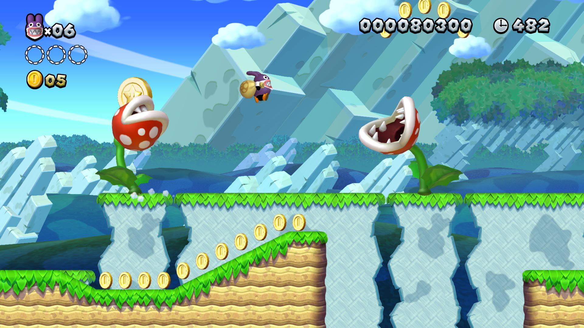 New Super Mario Bros U Deluxe Nintendo Switch Digital Code