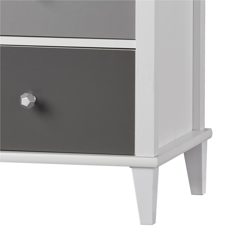 Little Seeds Monarch Hill Poppy Desk White//Gray