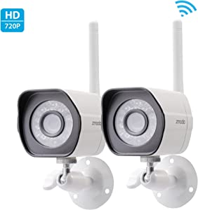 Zmodo Wireless 720p HD Smart Home Security Cameras (2-Pack)
