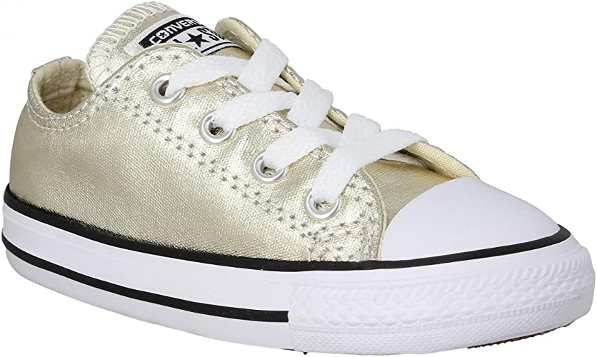 Converse Girls' Trainers Gold Gold Gold
