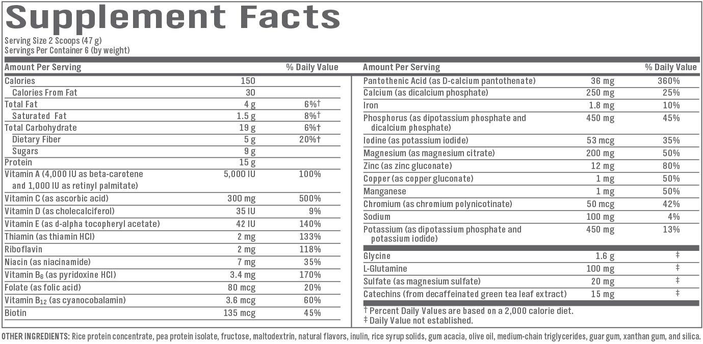 SlimGenics Slim-Repair TM | Detox Shake, Vegetarian and Gluten-Free Medical-Grade 3-Day Vanilla Flavored - 6 Servings by SlimGenics