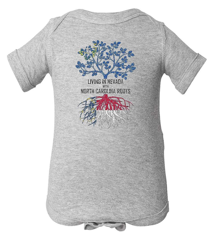 Tenacitee Babys Living in Nevada North Carolina Roots Shirt