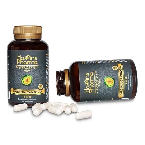 Garcinia Cambogia Forte 1250 mg con Cromo y Colina, Doble Acción, 100 Cápsulas: Amazon.es: Salud y cuidado personal