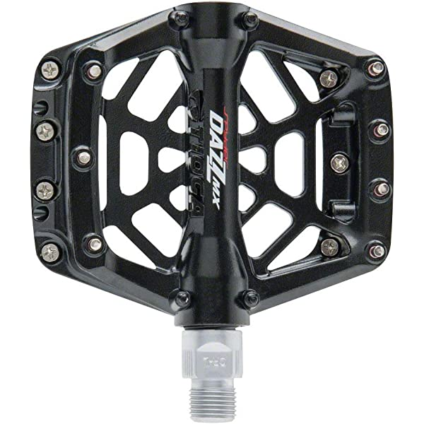 "Tioga DAZZ Lite Pedals 9//16/"" Plastic Platform Black"