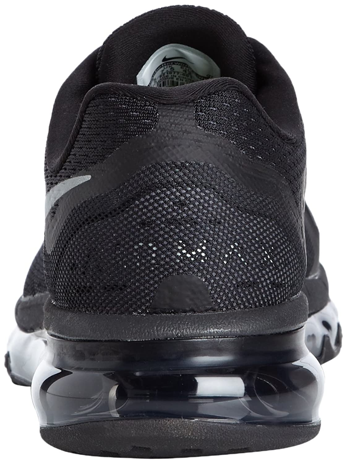 Nike Air Max 2014 Black/Silver Mens Running Trainers Shoes
